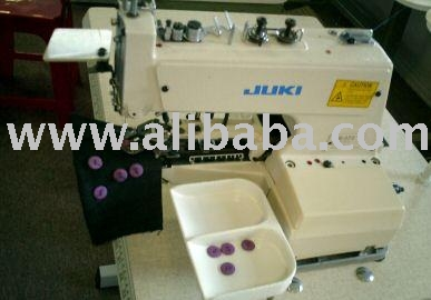 Juki MB-737 Button Sewer Industrial Sewing Machine. (Juki MB-737 Knopfannäher Industrial Sewing Machine.)