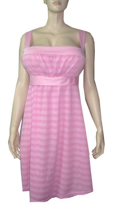 Plus Size Stripe Dress (Плюс размер Stripe платье)