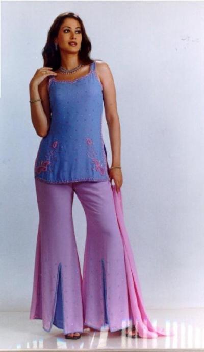Ladies Dresses, Short Top Trousers, Salwaar Kameez (Платья дам, короткой верхней Брюки, Salwaar Kam z)