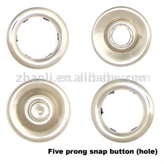 7. 5mm Pronge Snap Button (7. 5mm Pronge Snap кнопки)