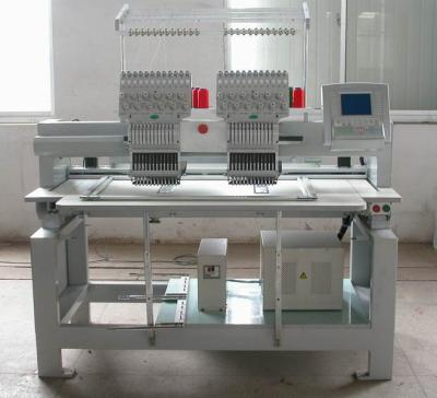 2 Heads Embroidery Machine