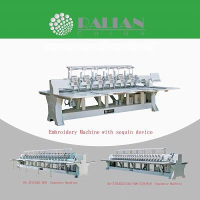 Multi Heads Embroidery Machine (Multi Staats-Stickmaschine)