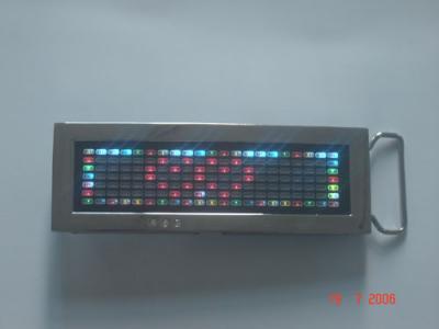 7 Color Changing Rechargeable Animation LED Buckle (7 смены цветов аккумуляторных светодиодных Мультфильмы пряжка)