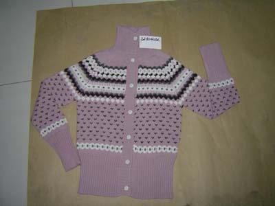 Girl Long Sleeve Sweater (Девочка с длинным рукавом Свитера)