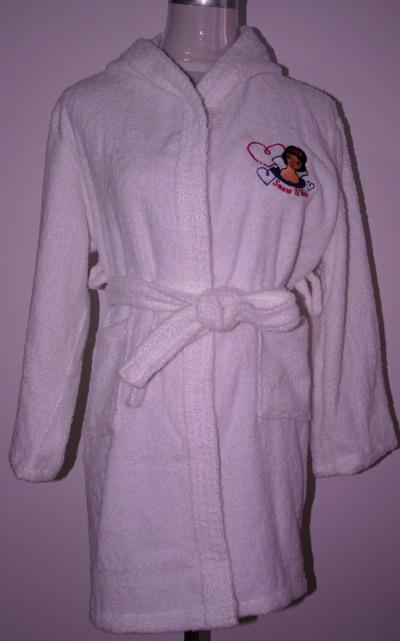 Bathrobe With Embroidery