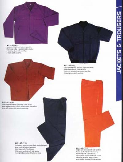 Workwear Overalls, Bib Trousers, Apron, Jackets, Coats (Рабочая одежда Спецодежда, Полукомбинезон брюки, фартук, куртки, пальто)