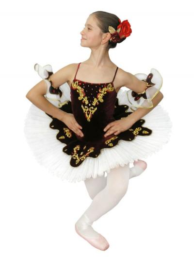 Classical Ballet Tutu Paquita With An Elastic Bodice On Hoops (Classical Ballet Tutu Paquita With An Elastic Bodice On Hoops)