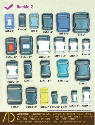 Plastic Buckles (Пластиковые пряжки)