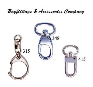 Swivel Snap Hooks, Key Hooks, Keychains, Key Rings, etc. (Поворотные карабинов, Key крючки, Брелки, кольца для ключей и т.д.)