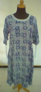 Stamp Rayon Women Dress (Штамп район Женщины платье)