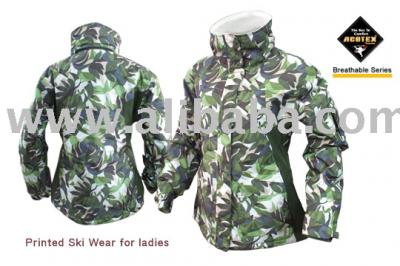 Printed Ski Wear (Печатный Ski Wear)