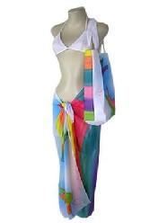 Brazilian Color Sarong And Bag (Бразильские цвета саронг и сумка)