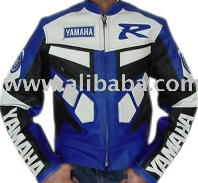 Men`s Blue Motor Bike Leather Armor Jacket (Men`s Blue Motor Bike Leather Armor Jacket)