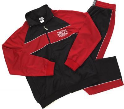 Everlast - Трикотажный костюм для разминки - Черный/Красный.