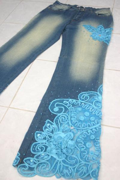 бисер схемы вышивки для джинсов фото - Это бисер!