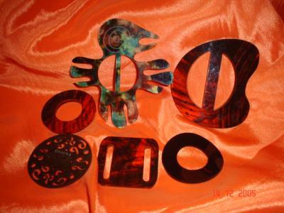 Acrylic Buckles (Акриловые Пряжки)