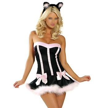 Sexy Costumes, Kitten Costume (Сексуальная Костюмы Костюм Котенок)