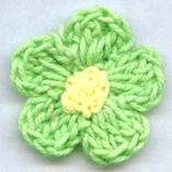 Crochet Flower (Вязание крючком цветок)