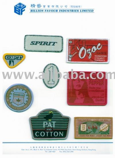 Woven Badge (Тканые Знак)
