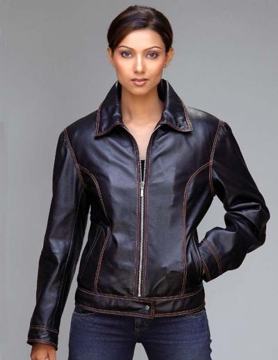 Female Leather Jackets - JacketIn