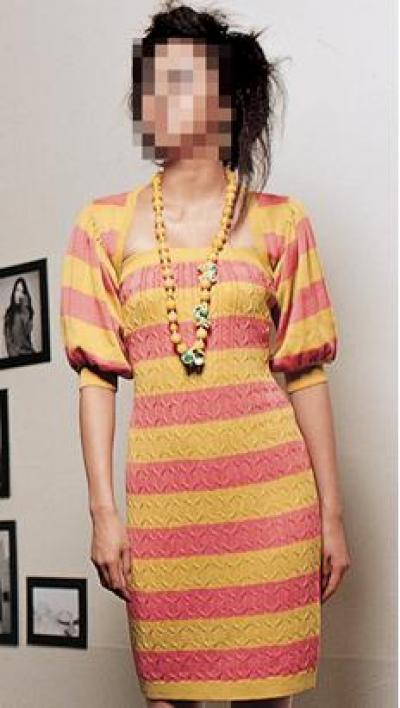 Spring Knit dress (Весна вязать платье)