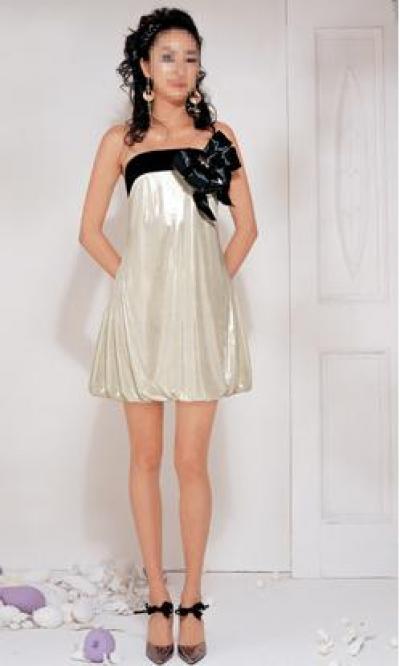 Satin Pearl Cocktail Dress (Атласное платье для коктейля Pearl)