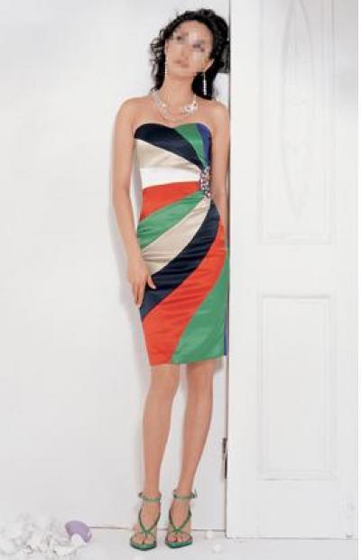 Satin Conservative Dress (Атласное платье Консервативная)