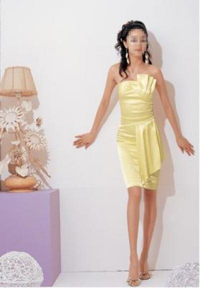 Satin Cocktail Dress (Атласное платье для коктейля)
