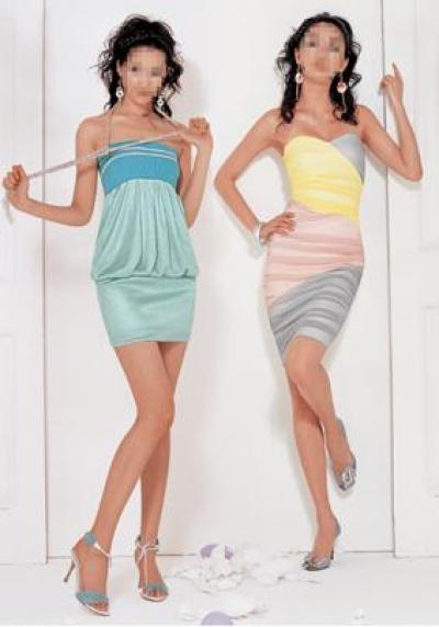 Spring Cocktail Dress (Весна платье для коктейля)