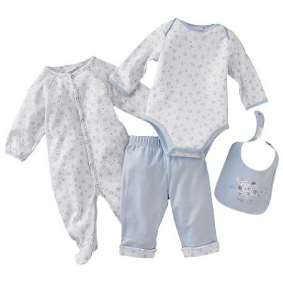 Baby T-Shirt, Baby Romper, Baby Hat, Baby Booties (Baby T-Shirt, Ползунки Baby, Baby Hat, Baby Booties)