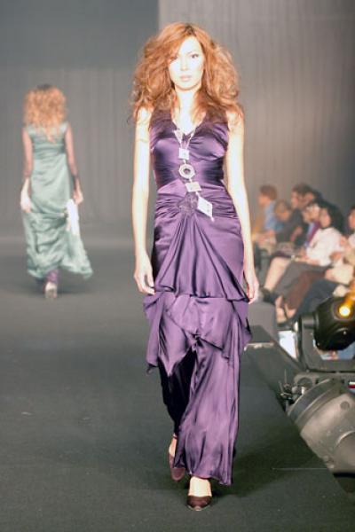 AB Silk Dress (Б. шелковое платье)