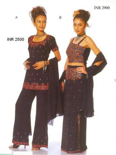 Beaded Evening Wear (Beaded Evening Wear)