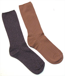 Organic Cotton Rib Socks