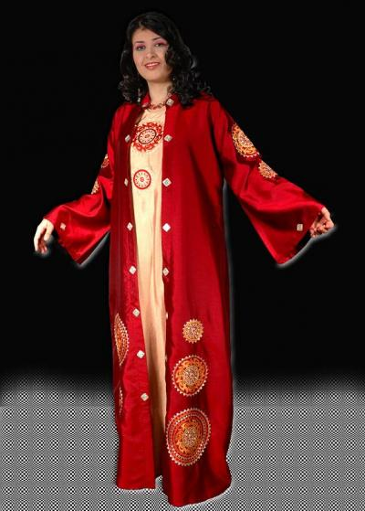 Модель 193 этническая одежда