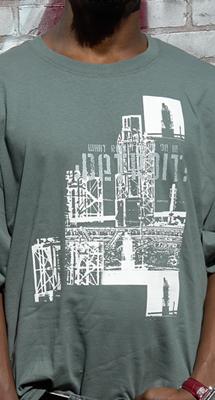 Detroit Clothing Line / T Shirts (Детройт линия одежды / T Рубашки)