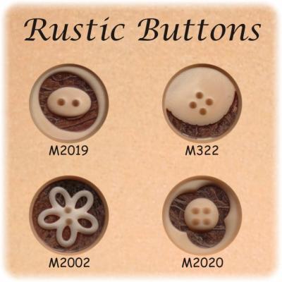 Rustic Corozo Buttons (Сельский Corozo Кнопки)