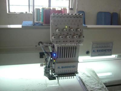 single head single sequin computerized embroidery machine