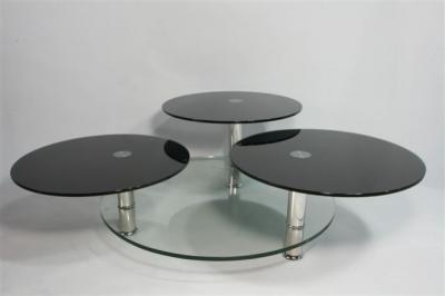 Round Glass Coffee Table with Function (Круглые стекла Журнальный столик с функцией)