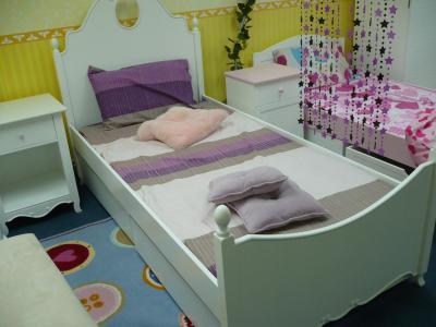 Kids/Children Bedroom Furniture - Victoria Collection - Single Bed (Дети / Детская мебель для спальни - Виктория Collection - одноместный)
