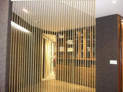 Metal chain curtain