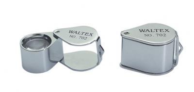 0. 75 inch dia Metal folding magnifer with glasses lens 20x (0. 75 дюйма Диаметр металлическими усиками magnifer со стаканами объектив 20x)