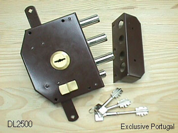 THREE WAY HIGH SECURITY DOOR LOCK (THREE WAY HIGH SECURITY DOOR LOCK)