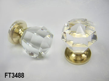 CRYSTAL MORTISE KNOB (CRYSTAL врезной Ручка)