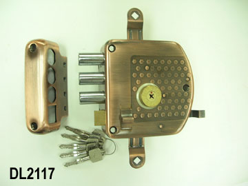 THREE WAY HEAVY DUTY DRAWBACK DOOR LOCK (THREE WAY HEAVY DUTY ZOLLRÜCKVERGÜTUNG DOOR LOCK)