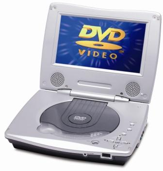 Portable DVD Player (Tragbarer DVD-Player)