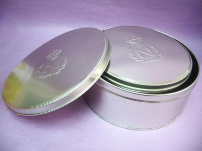 Cake Tin / Round Tin boxes in a Set