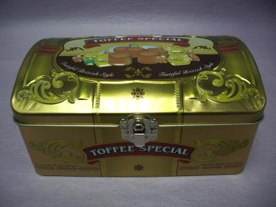 Rectangular Tin Box / Chocolate Packaging Tin