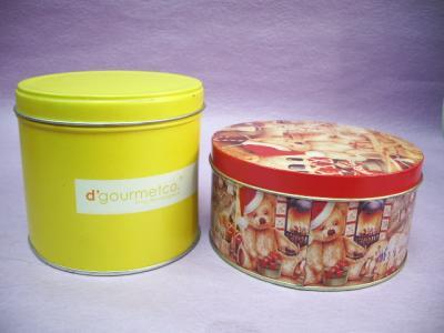 Round Tin Box (Круглые Tin Box)