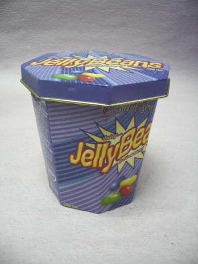 Octagonal Tin Box / Candy Tin