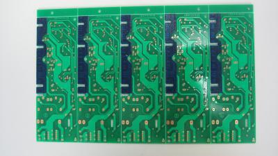 Double side PCB with removable solder mask (Двухместные стороне печатной платы со съемной маской припоя)